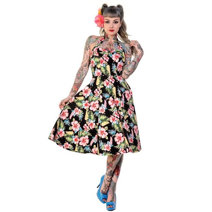 Banned '50 Dress with Flowers (60 EUR)