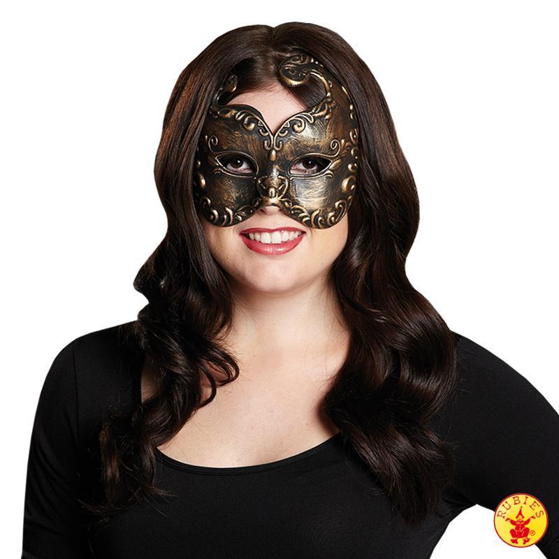 Jofrika maschera color bronzo