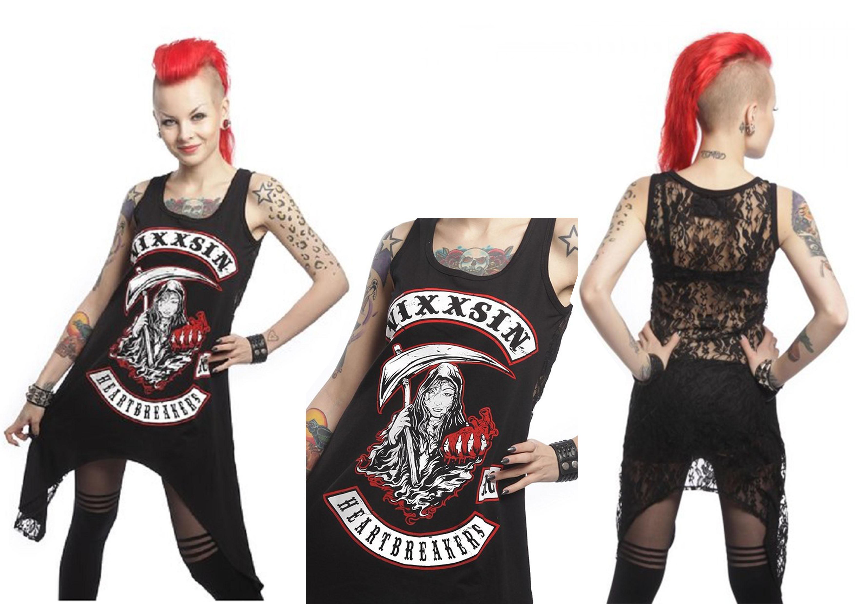 Vixxsin Mini-Dress Mc Heart Breaker