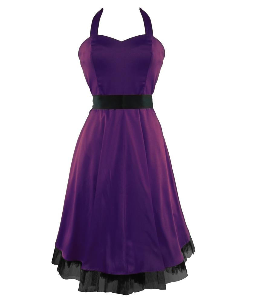 H&R London Vintage Purple Elegance Dress   (45 EUR)