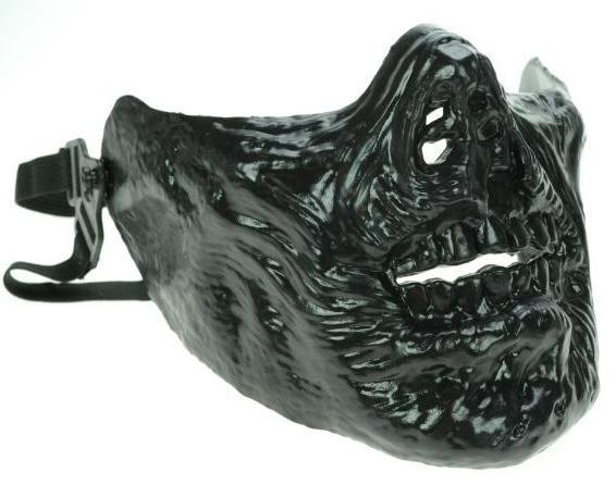 Poizen Industries Zombie Mask Nera