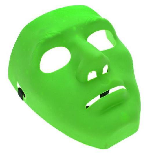 Poizen Industries Face mask Verde