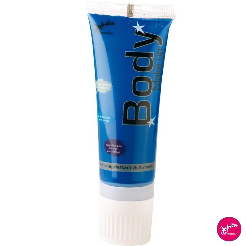 Jofrika Colore corpo blu body painting