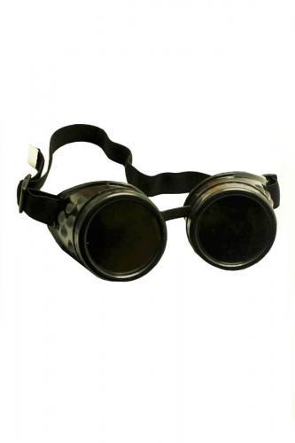 Phaze Goggle Steampunk Nero