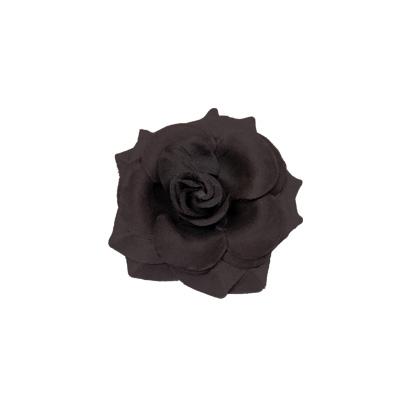 Rosa nera piccola per capelli