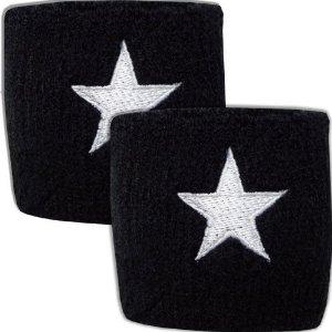 Coppia polsini con stella glitter
