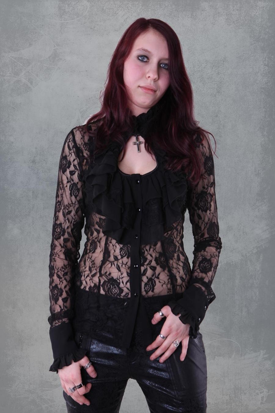 spesso Abbigliamento rock punk dark metal gotic steam punk & accessory NK27