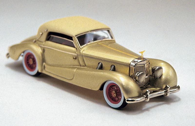 MERCEDES 500 K 1938 - EVA BRAUN