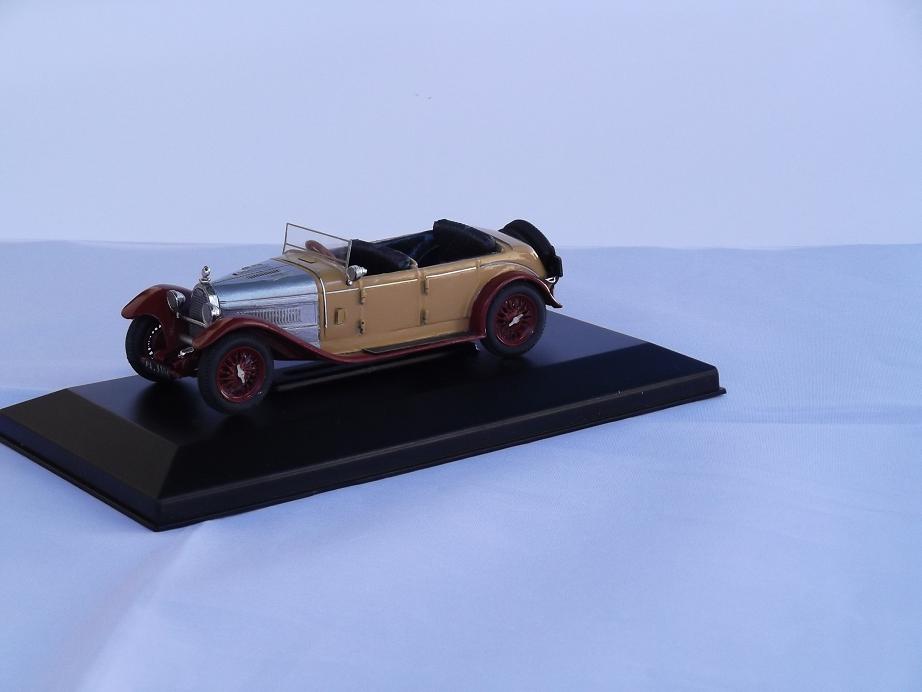"""BUGATTI T44 """"Zio Gino"""" Ch.N.44477 GHIA - 1929"""