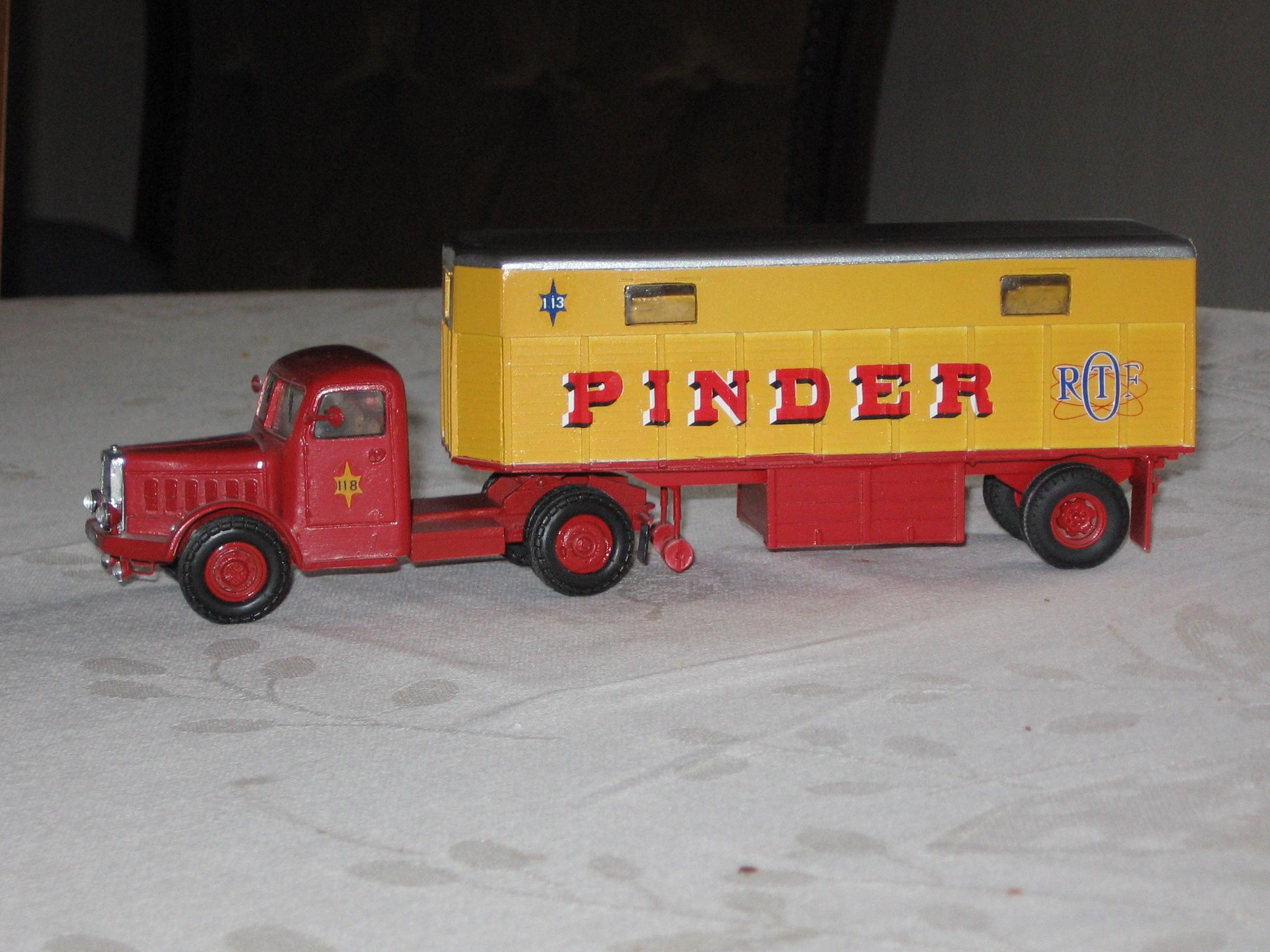 semi US 10T + Tracteur BERNARD