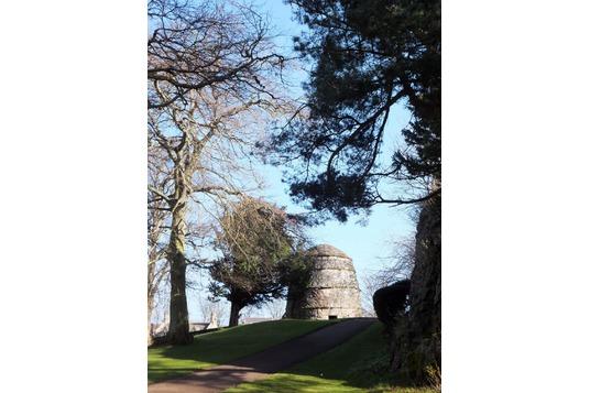 Dirleton Castle doocot dovecot