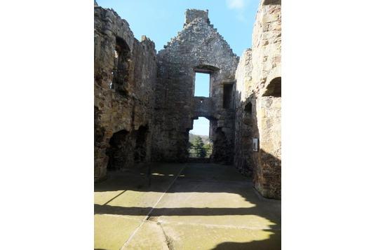 Dirleton Castle Ruthven Range