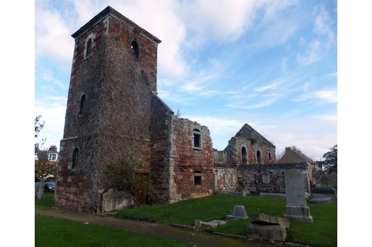 North Berwick St Andrews church ruin