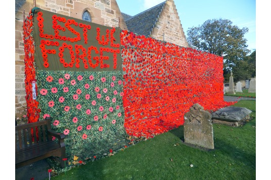 Aberlady Parish Church poppies