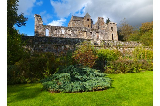 Castle Campbell: ruin castle Dollar Glen