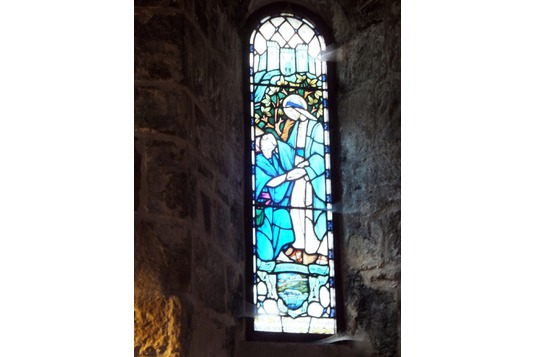Coventry window, St Fillan's Church, Aberdour