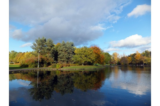 Gunknowe Loch, Tweedbank Park
