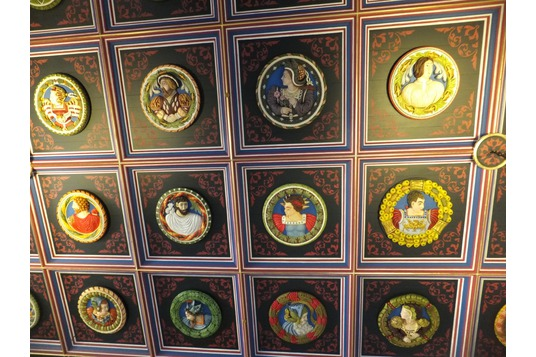 Ceiling, Palace, Stirling Castle