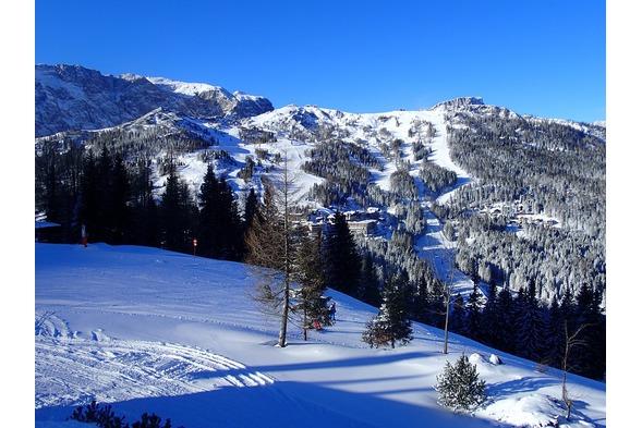 Skifahren Nassfeld, Plattner,Winter6