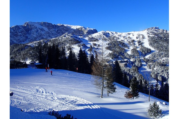 Skifahren Nassfeld, Plattner,Winter8