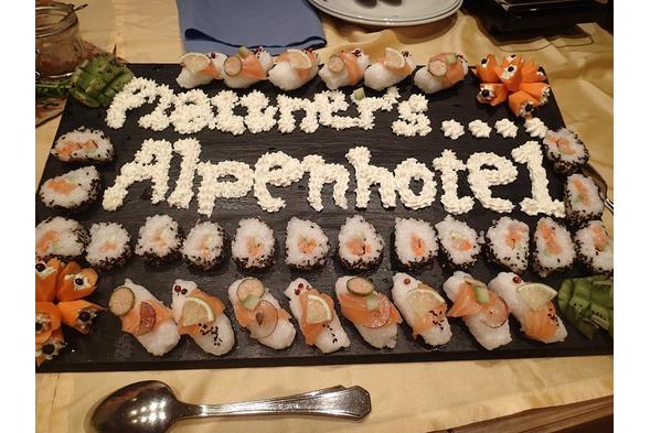 Alpenhotel Plattner, Nassfeld, Fischbuffet 1