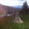 Plattners Alpenhotel. Nassfeld, Sonnwendfeier, 1