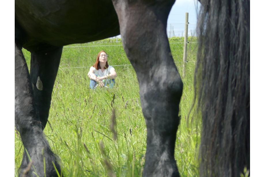 Alexa Achtsamkeit mit Pferd