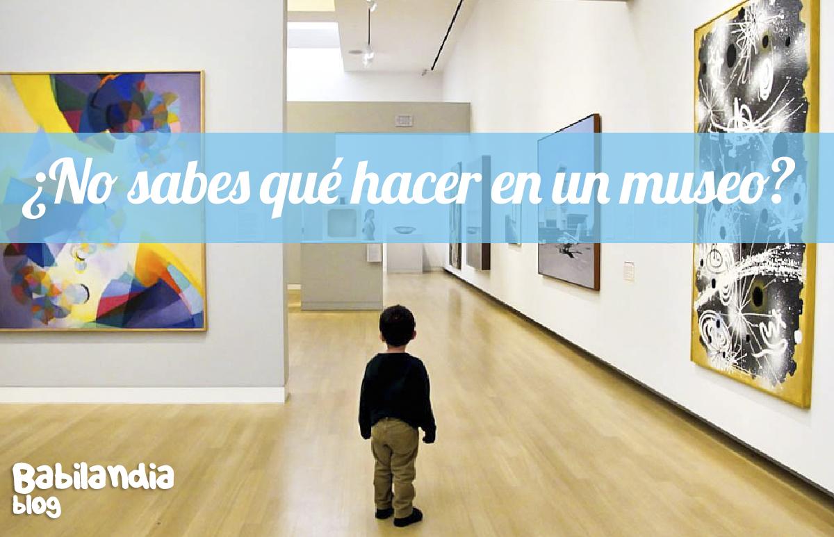 niños y museos