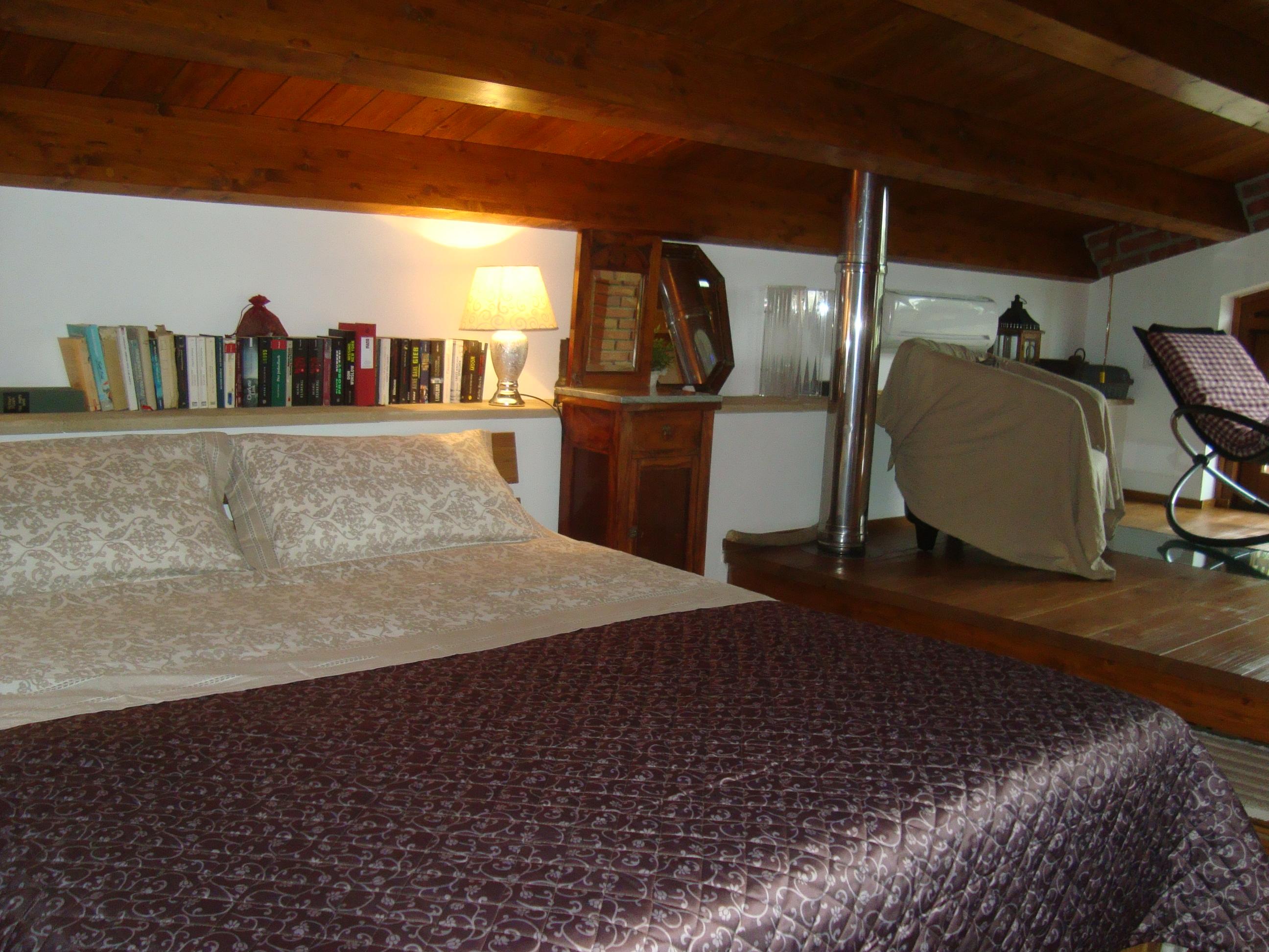 Schlafzimmer in Casetta al Costa