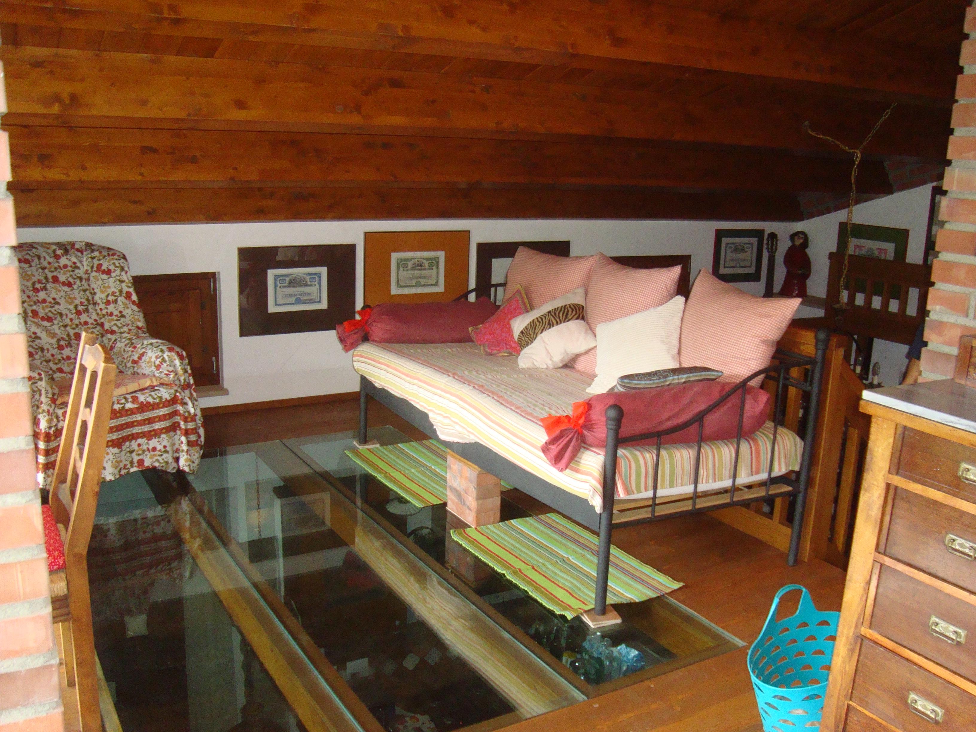 Einzelbett in Casetta al Cost
