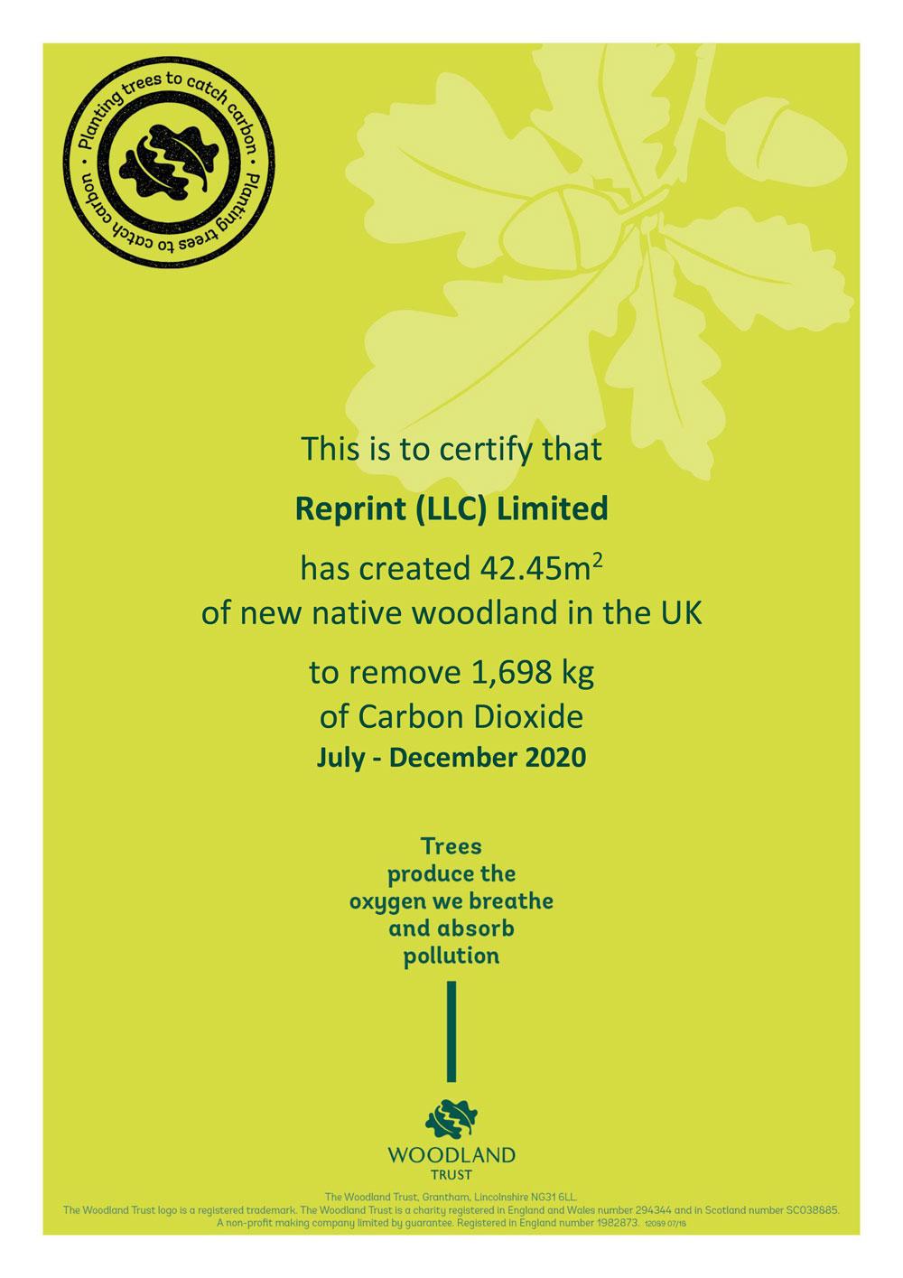 Reprint-Carbon-Woodland-Trust-Certificate