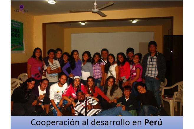 Cooperación al desarrollo en Perú