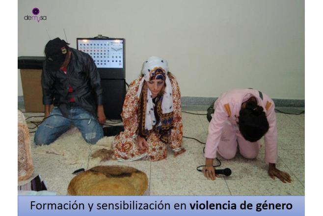 Formación y sensibilización en Marruecos