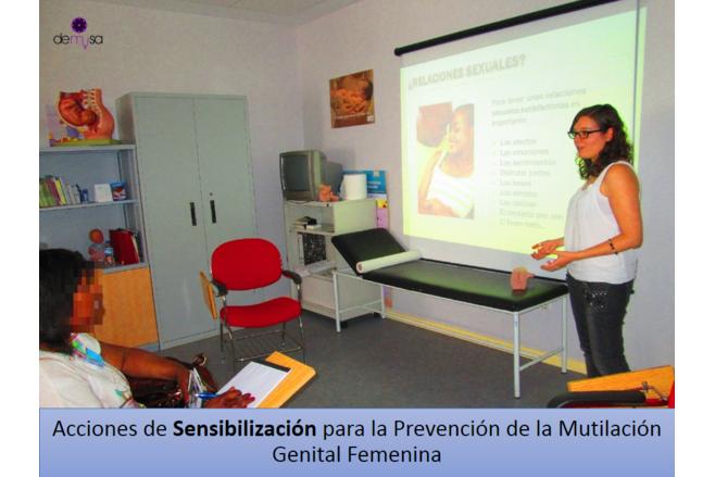 Sensibilización prevención MGF