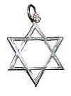 Estrella de David (abierta)