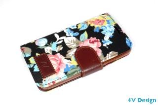 TRENDY FLOWER - Samsung Galalxy S4 - colore NERO - 24,90€ - Spedizione Gratuita