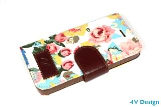 TRENDY FLOWER - iPhone 5-5s - colore BIANCO - 24,90€ - Spedizione Gratuita