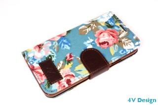 TRENDY FLOWER - Samsung Galalxy S5 - colore AZZURRO - 24,90€ - Spedizione Gratuita