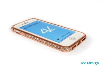 DIAMOND - iPhone 5-5s - colore ORO ROSA