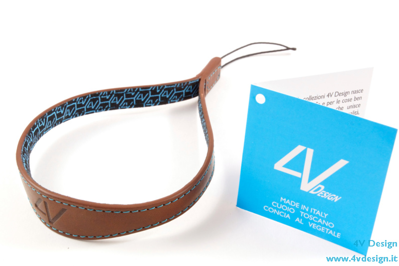 """WATCH"" Wrist Strap Brown-Cyan   -   44,90 EURO (FREE SHIPPING)"