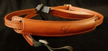 Slim Lusso Neck Strap Brown-Brown
