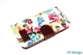 TRENDY FLOWER - Samsung Galalxy S4 - colore BIANCO - 24,90€ - Spedizione Gratuita