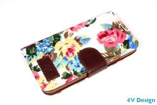 TRENDY FLOWER - Samsung Galalxy S5 - colore BIANCO - 24,90€ - Spedizione Gratuita
