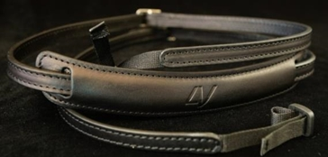 Slim Lusso Neck Strap Black-Black