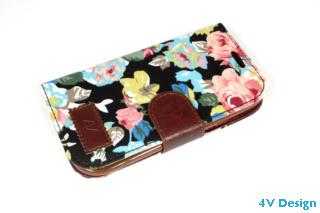 TRENDY FLOWER - Samsung Galalxy S3 - colore NERO - 24,90€ - Spedizione Gratuita