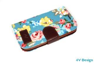 TRENDY FLOWER - Samsung Galalxy S3 - colore AZZURRO