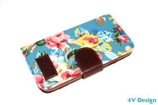 TRENDY FLOWER - Samsung Galalxy S4 - colore AZZURRO - 24,90€ - Spedizione Gratuita
