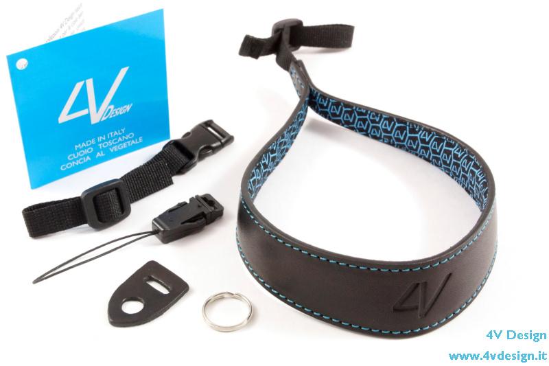"""""""ERGO"""" Large Wrist Strap Kit Black-Cyan   -   49,90 EURO (FREE SHIPPING)"""