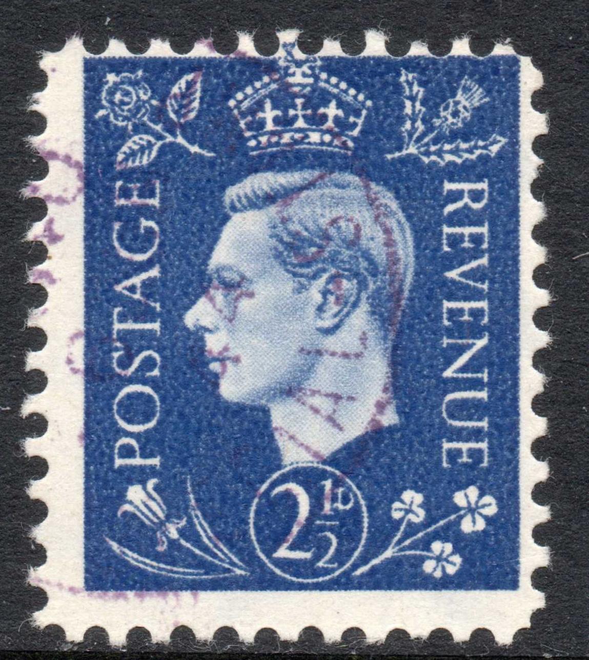 George VI 2½d Propaganda Forgery