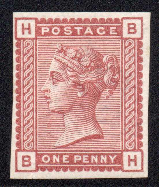 1880 1d Venetian Red Imprimatur